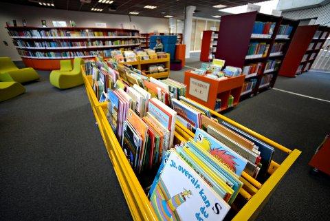 INGEN ARRANGEMENT: Kongsberg bibliotek kutter barnelørdagene inntil videre.