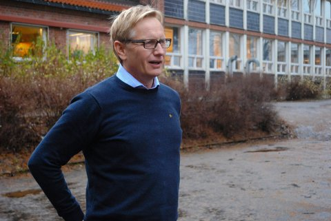 FORNØYD: Rektor ved Vestsiden ungdomsskole, Baard Olsen, er glad for at eksamen ble avlyst såpass tidlig.