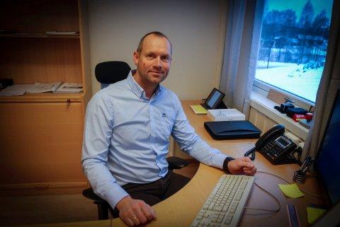 SLUTTER: Jarle Weseth skal starte i ny jobb i Forsvaret.