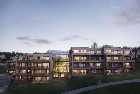 BYGGESTART: Etter flere års planlegging kan man endelig stikke spaden i jorda og begynne byggingen av Signaturhagen.