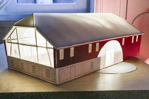 MatRIKET:  Dette er et forslag på hvordan en eventuell mathall på Søndre Linnesvollen gård kan bli.