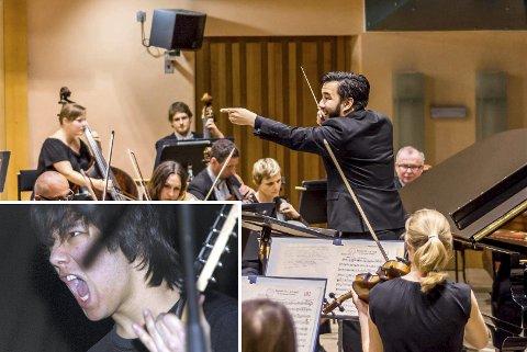 MANGEFASSETERT: Aage Meyers genuine interesse for musikk har ført han langt. Fra nyttår blir han dirigent for Bergen filharmoniske orkester.