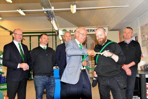 Koblet sammen slangen: F.v: Ansgar Karlsen, Tony Schoone, Jan Ivar Lindseth, Erik Jølberg, Ole Christian Espedal og Vidar Gustavsen.