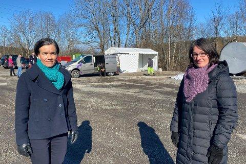 Lierposten Her Er Feltklinikken I Kommunen Har Kommet Opp Pa Rekordtid
