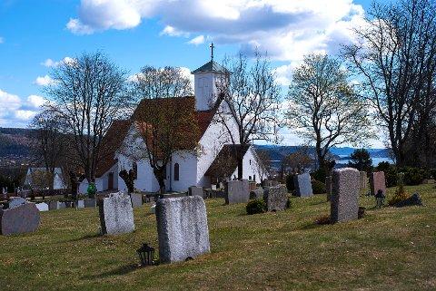 JULEGUDSTJENESTE: Opptakene av gudstjenesten blir i Frogner kirke, og publiseres på lierposten.no på julaften.
