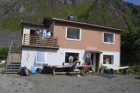 Samlingssted: Surfesenteret vil blant annet også rette seg inn mot det lokale surfemiljøet i Lofoten
