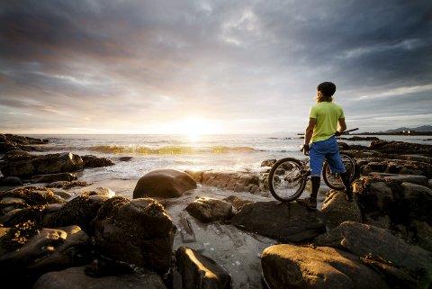 Kontroll: Ulltang føler at han har mer kontroll på sykkelen enn på beina.