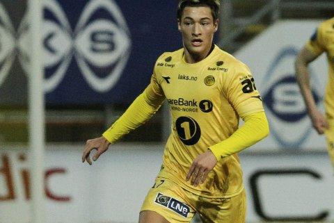 Vil bort: Mathias Normann ønsker å spille Eliteserie-fotball kommende sesong - da må han forlate Bodø/Glimt. ArkivFoto: Mats Torbergsen / NTB scanpix