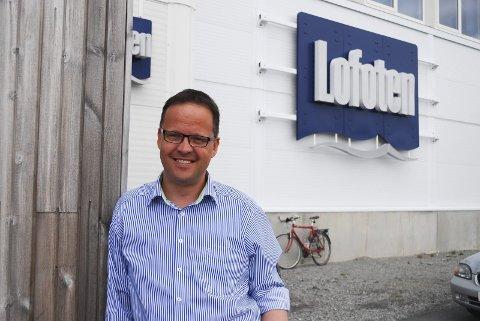 SATSER: Administrerende direktør Sigvald Rist røper at de skal investere 200 millioner i ny fabrikk i Storeidøya og det betyr at den blir dobbelt så stor som dagens fabrikk. Foto: Kai Nikolaisen