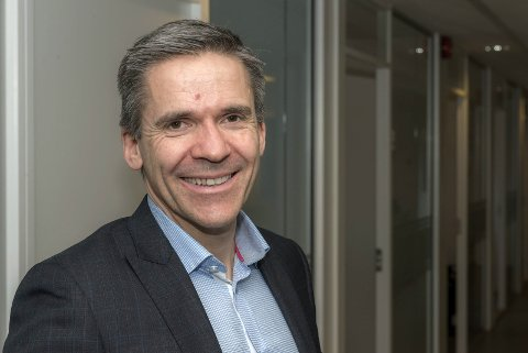 Fornøyd: Adwice-sjef Johan Thomas Hegdahll er fornøyd med at selskapet har tilsatt hele fire nye personer - alle med tilknytning til Lofoten. Foto: presse
