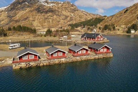 TIL SALGS: Campingplassen i Rolvsfjorden er fortsatt ikke solgt.