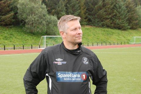 LFK-trener Robin Hansen.