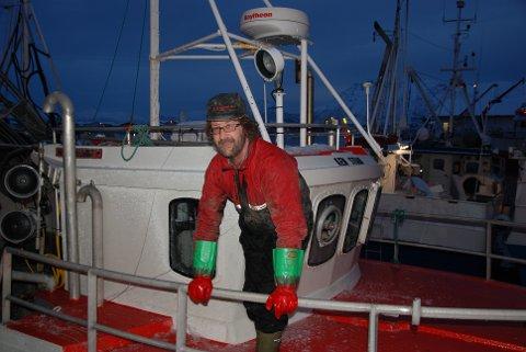 Fisker Bjørn Roar Jensen på Reine.