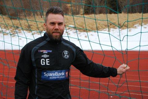 Veteranen Gøran Ellingsen er klar for en sesong til.