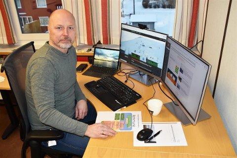 næringssjef og beredskapskoordinator Sigve Olsen i Vestvågøy kommune var en av deltakerne på øvelsen mot dataangrep mot kommunens IKT-systemer i januar i år.