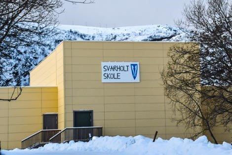 Svarholt skole i Stamsund.