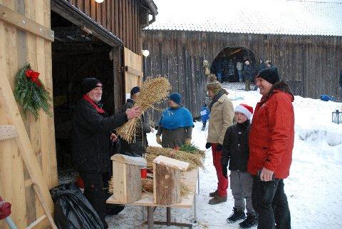 Populært: Førjultreffene på Vestre Bråte Bygdetun i Hobøl trekker alltid mye folk.