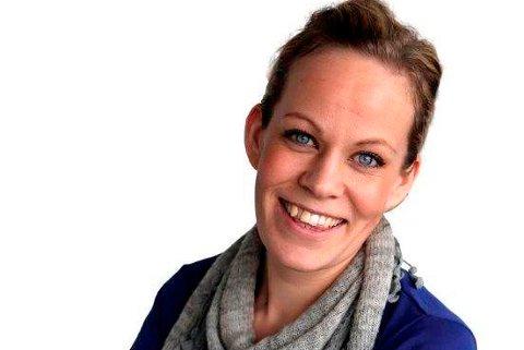Sigrid Edin Holmsen, digitalredaktør i Moss Avis
