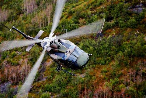HELIKOPTER: Bell 412 helikopter fra 339 skvadron.