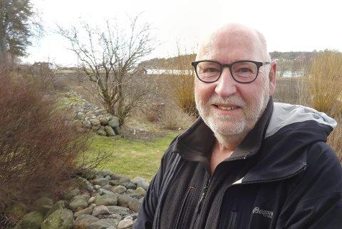 Torodd Hauger (69), Årefjorden i Rygge.