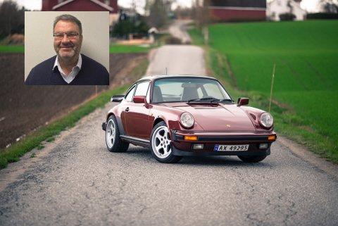 FANT BILEN: Pål Eriksen (innfelt) kom over Sean Armanas stjålne Porsche torsdag kveld.