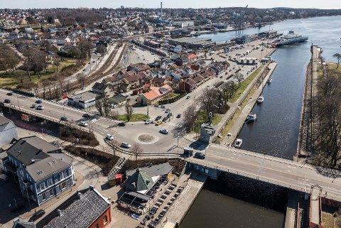 BYPLANLEGGER: Moss kommune skal ansette to nye byplanleggere som vil få være med å forme fremtidens Moss.