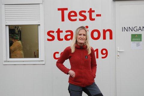 FORVENTNINGSFULL: Fungerende kommuneoverlege Kaia Kvisterø venter nå spent på at de første vaksinedosene skal ankomme Namsos.