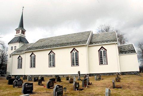INGEN SØKERE: Ved søknadsfristens utløp 30. mars, hadde ingen søkt  prestestillinga i Namdalseid kirke.