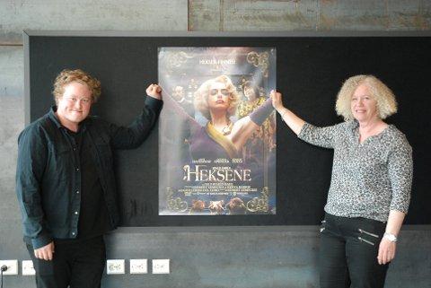 GLEDER SEG: Reidar Johnsen og Ingeborg Flornes ser frem til å snurre film på grunnlovsdagen.
