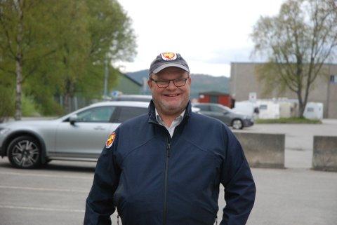 NYTT SYSTEM: – Den nye parkeringsappen brukes av rundt 700-800 stk. hver dag, forteller parkeringsformann Odd Erik Fahsing.