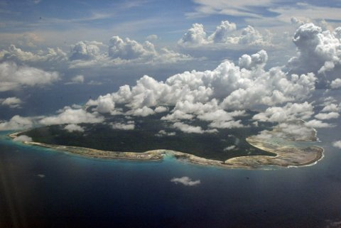 ØY: North Sentinel Island er bebodd av sentineleserne.