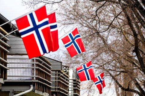 Nidaros sender direkte på 17. mai i Trondheim. Foto: Gorm Kallestad / NTB scanpix