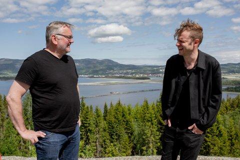 NY DEBATTPORTAL: Ansvarlig redaktør John Arne Moen i Trønder-Avisa og politisk redaktør Snorre Valen i Nidaros.