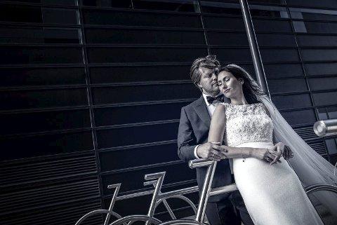 BLUE MOOD: Andreas Bjørge deltar i bryllupskategorien i VM i fotografi 2018 med bildet Blue Mood. Foto: Andreas Bjørge