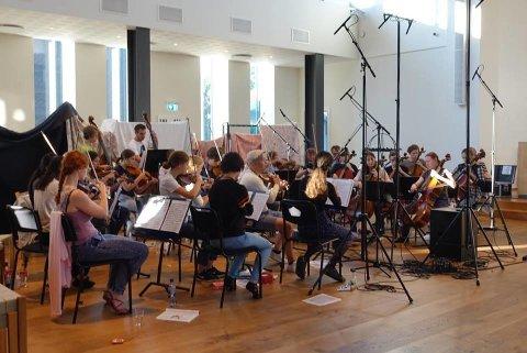 Magisk: NOR59 spiller inn verker fra Sjostakovitsj og Tchaikovskij. CDen kommer senere i høst.