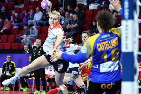 SCORET: Vilde Mortensen Ingstad scoret ett mål på ett forsøk.