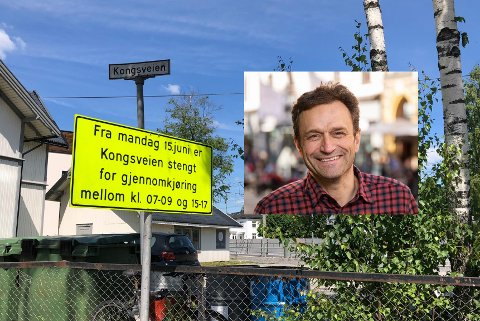 - Jeg er veldig glad for at vi får dette på plass, sier samferdelsbyråd Arild Hermstad om stengingen av Kongsveien.