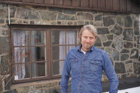 Jan Petter Kildeborg er fjerde generasjon i trykkeriet Litografia på Nordstrand.