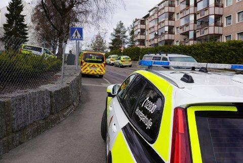 Politiet rykket ut med store styrker etter voldsepisoden på Lambertseter. Nå roser politiet vitnene som grep inn og stanset gjerningsmannen.