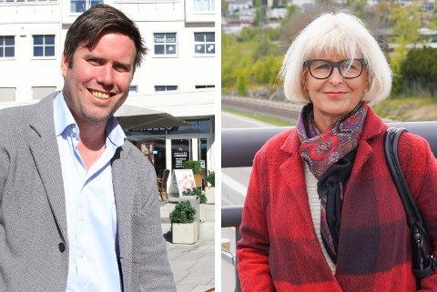 Miert Lindboe og Asbjørg Lyngtveit i Nordstrand Ap mener det er på tide at estetiske kvaliteter og strøkstilpasning blir en del av diskusjonen i bydelsutvalget når det bygges på Nordstrand.