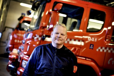 Brannsjef i Vågå, Bjørn Tore Aspen. Tysdag kveld skal kommunestyre ta stilling til kjøp av ATV