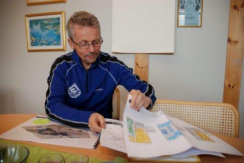 Utfordrande: Å rekruttere kommunepsykolog, meiner Bjørn bakke, kommunalsjef for helse og velferd i Lom kommune. Foto: Arkiv