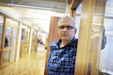 Daglig leder:Ved regionkontoret på Otta, Frode Damstuen. Foto: Arkiv