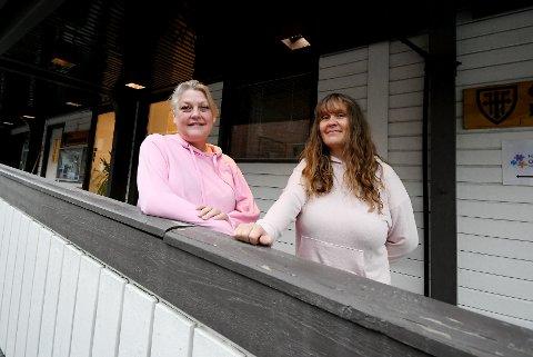 - Vi vil at bykirken skal være kjent for folk, forteller menighetspedagog Randi Bakken Vassplassen og diakon Astrid Marie Sæther.