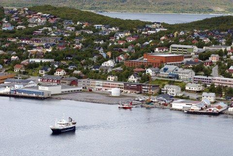 Skjervøy på Skjervøya.