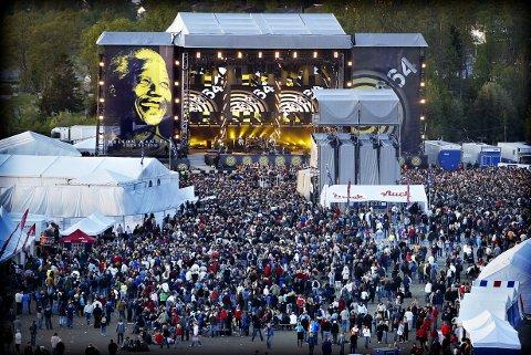 Slik så det ut da Mandelsakonserten ble arrangert i Tromsø.