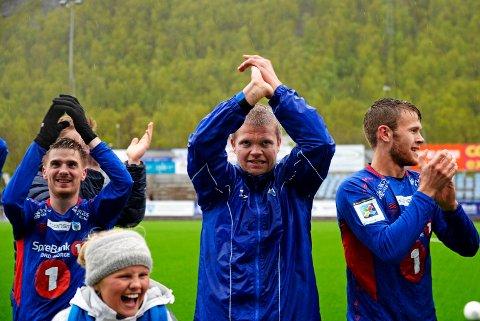 Gaute Ugelstad Helstrup og TUIL har aldri tapt en seriekamp i de fem siste serierundene de årene klubben har spilt i 2. divisjon. Foto: Rune Stoltz Bertinussen NTB scanpix