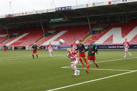 MÅLFORM: Christer Johnsgård scoret sitt tredje mål for TIL 2 og jobber for mer spilletid på førstelaget.