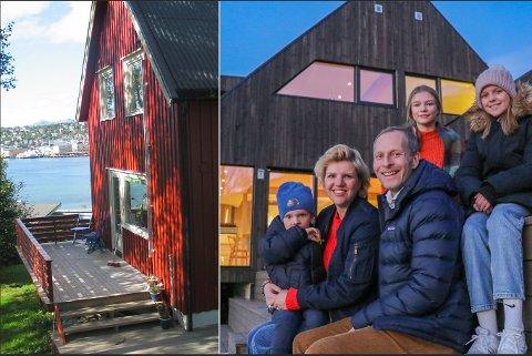 STOR FORVANDLING: Silje og foreldrene overtok besteforeldrenes hus.