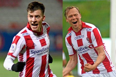 FORLENGER: Jostein Gundersen og Magnus Andersen har begge skrevet under nye avtaler med TIL.